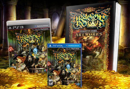 Dragon's Crown preorders get this art book