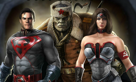 Injustice Gods Among Us' Red Son preorder DLC available to all next week