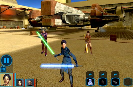Knights of the Old Republic arrives on the iPad, and the Force is with it
