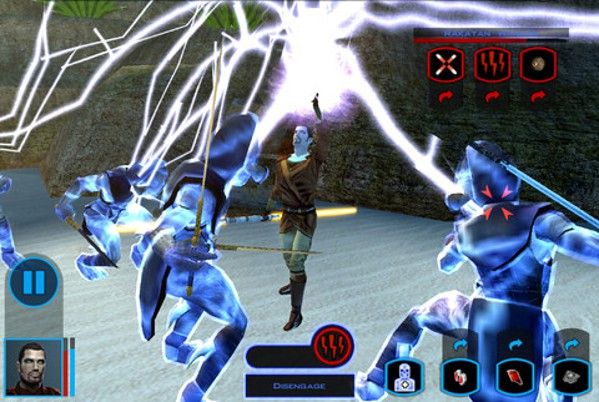 Star Wars Knights of the Old Republic arrives on the iPad, and the Force is with it