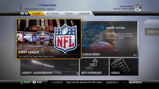 Relocate your team in Madden 25's franchise owners mode