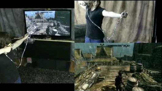 Mad Genius breakapart motion controller is for the serious Skyrim sniper