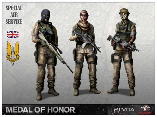 Slant Six linked to canned Medal of Honor Vita game