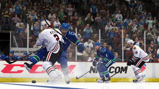 NHL 14 collision physics details