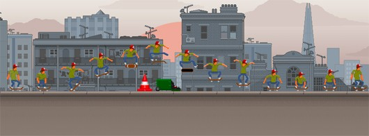 OlliOlli is 2D infinite skater coming to Vita in November
