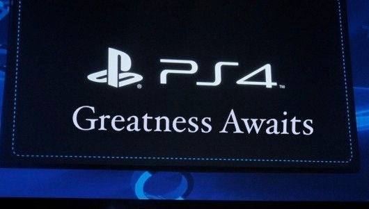 Sony America trademarks 'Greatness Awaits,' points to PS4 slogan