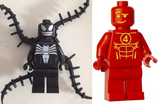 Venom and The Human Torch both playable in Lego Marvel Super Heroes