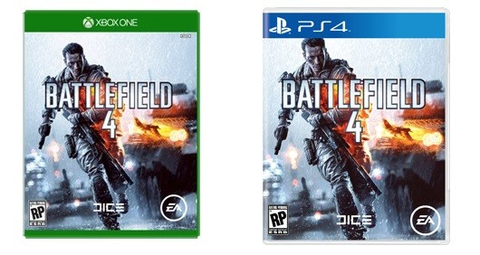 Xbox One, PS4 game box art appears on Battlefield 4 site