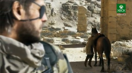 that Metal Gear Solid 5: The Phantom Pain will debut for the Xbox One