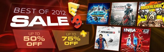 Sony's 'Best of 2012' E3 sale now live on PlayStation Network