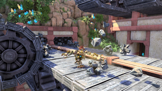 PS4 architect Cerny breaks down Knack's hardcore appeal