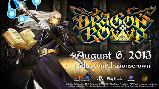 Dragon's Crown Wizard and Amazon trailers feature thunderbolts, lightning, are not particularly frightening