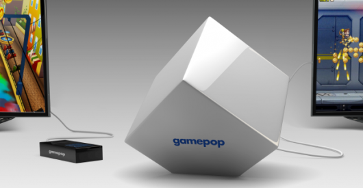 Subscription console GamePop Mini nestles between Ouya and GameStick