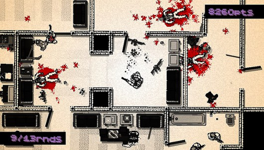 Hotline Miami slaughtering PSN on Tuesday