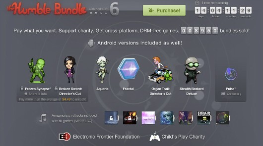 Humble Bundle with Android! 6