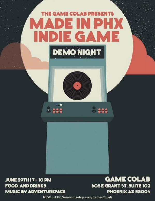 Made in Phoenix Indie Game Demo Night starts the party on Saturday