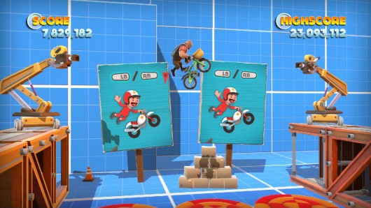 Joe Danger PC build Minecraft levels, race as Team Fortress 2 characters
