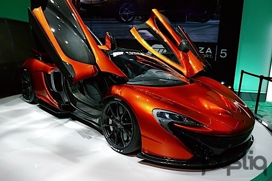 SeenE3 A McLaren P1 for real this time