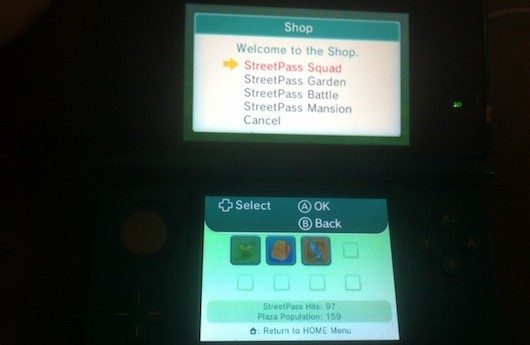 3DS update introduces four StreetPass Mii Plaza games, save data backup