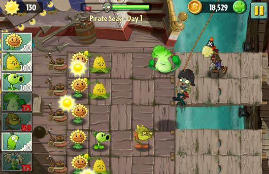 Plants vs Zombies 2 really is about time traveling
