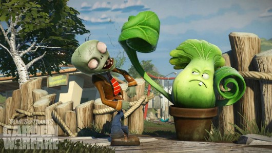 Plants vs Zombies Garden Warfare coming in spring, planned for PC