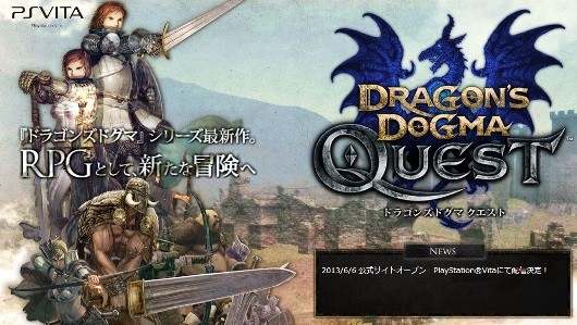 Dragon's Dogma Quest website goes live, game detailed