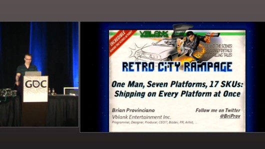 Brian Provinciano's GDC talk now in The Vault