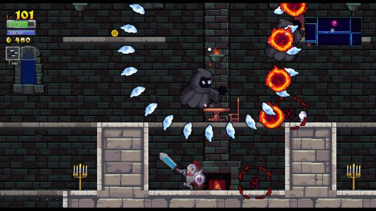Rogue Legacy stars knights with different disabilities, out now
