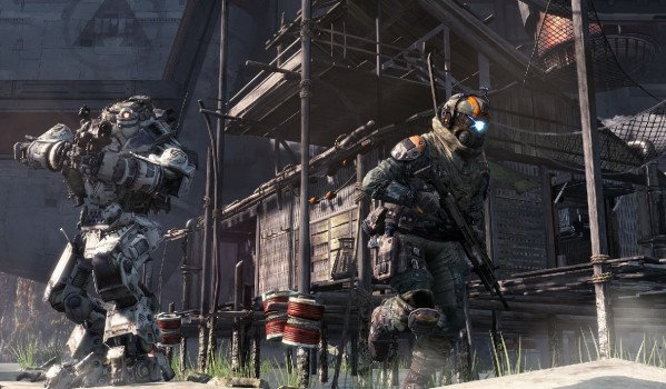 Titanfall's contrast between agility and agitation