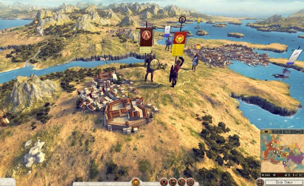 Total War Rome 2 is a 'completely reworked vision' from The Creative Assembly