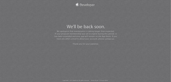 Apple developer site hacked, names and addresses possibly compromised
