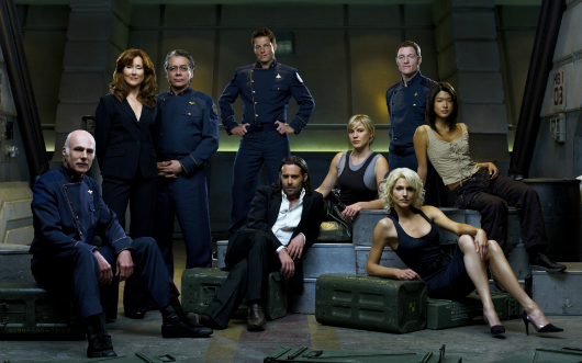 Battlestar Galactica producerwriter doing new thing with SCE Santa Monica
