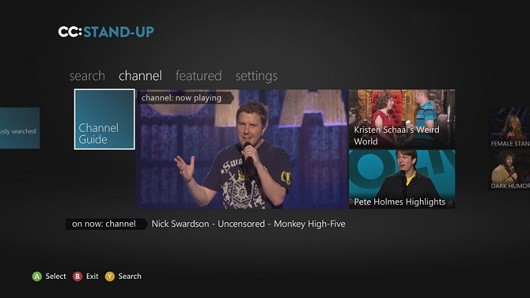 Comedy Central laughs all the way to Xbox 360 with standup comedy app
