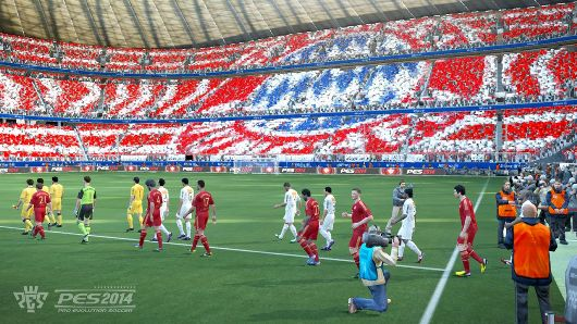 Pro Evolution Soccer 2014 corners Americas in September