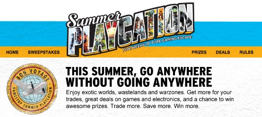 GameStop Summer Playcation sale is under way