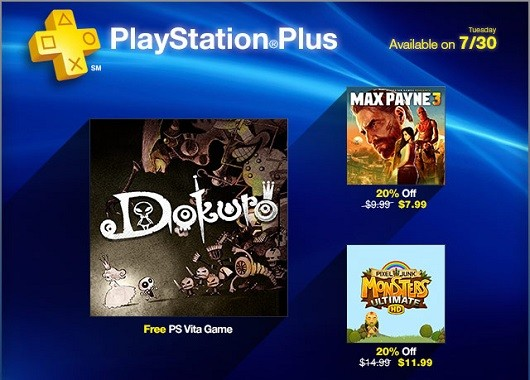 Dokuro is free, PixelJunk Monsters discounted on PS Plus this week