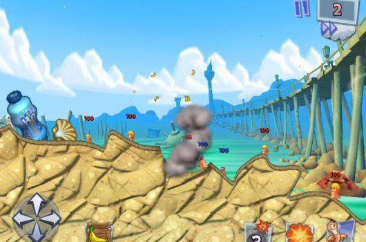 Worms 3 unearthed as mobileexclusive