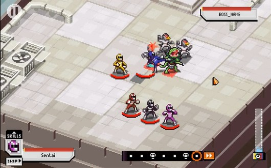 Knights of Pen and Paper dev's new game Chroma Squad hits Kickstarter
