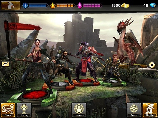 EA announces freetoplay Heroes of Dragon Age for mobile