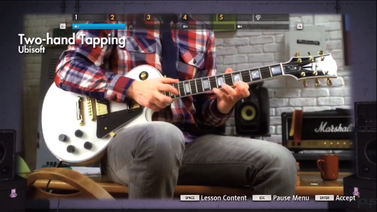 Rocksmith 2014's lesson trailer takes us to school