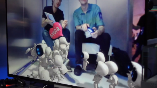 Handson with The Playroom, Sony's robotfilled augment reality packin