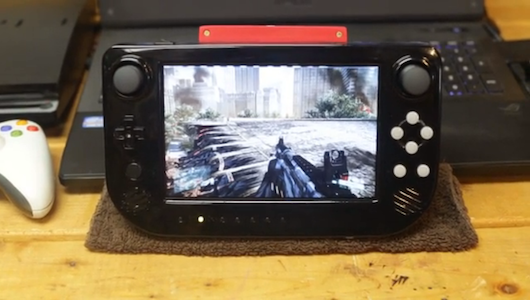Cross Plane is a Wii U gamepad for any HDMI console