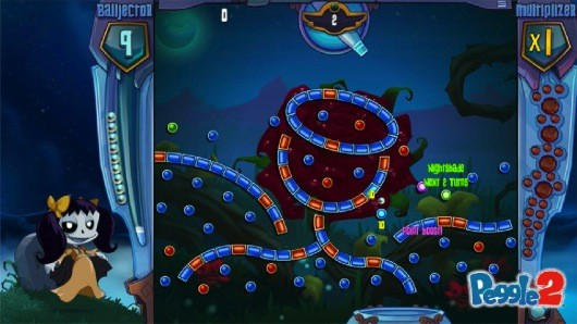 Peggle 2 Ballbouncing, pegclearing, unicornpooping goodness