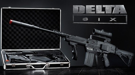 Meet Delta Six, the crowdfunded controller that looks like an assault rifle