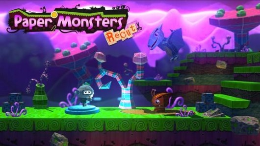 Arts and crafts time invaded by adorable monsters in Wii U platformer Paper Monsters Recut