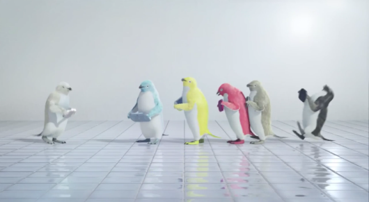 Take a break and watch penguins dance with the new Vita