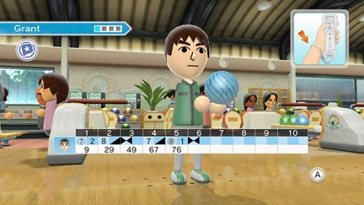 PSA Trial bowling and tennis at the Wii Sports Club, starting today