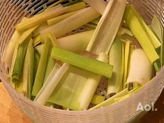 How to Cut and Clean Leeks