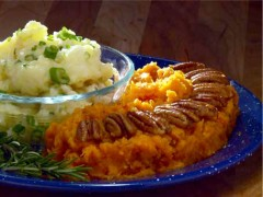 mashed potatoes sweet potatoes