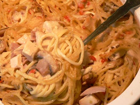 Turkey Tetrazzini -- American Classic